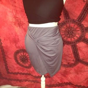 NWT Boohoo Gray Skirt